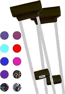 Crutcheze Premium USA Made Crutch Pad and Hand Grip Covers | Comfortable Underarm Padding..