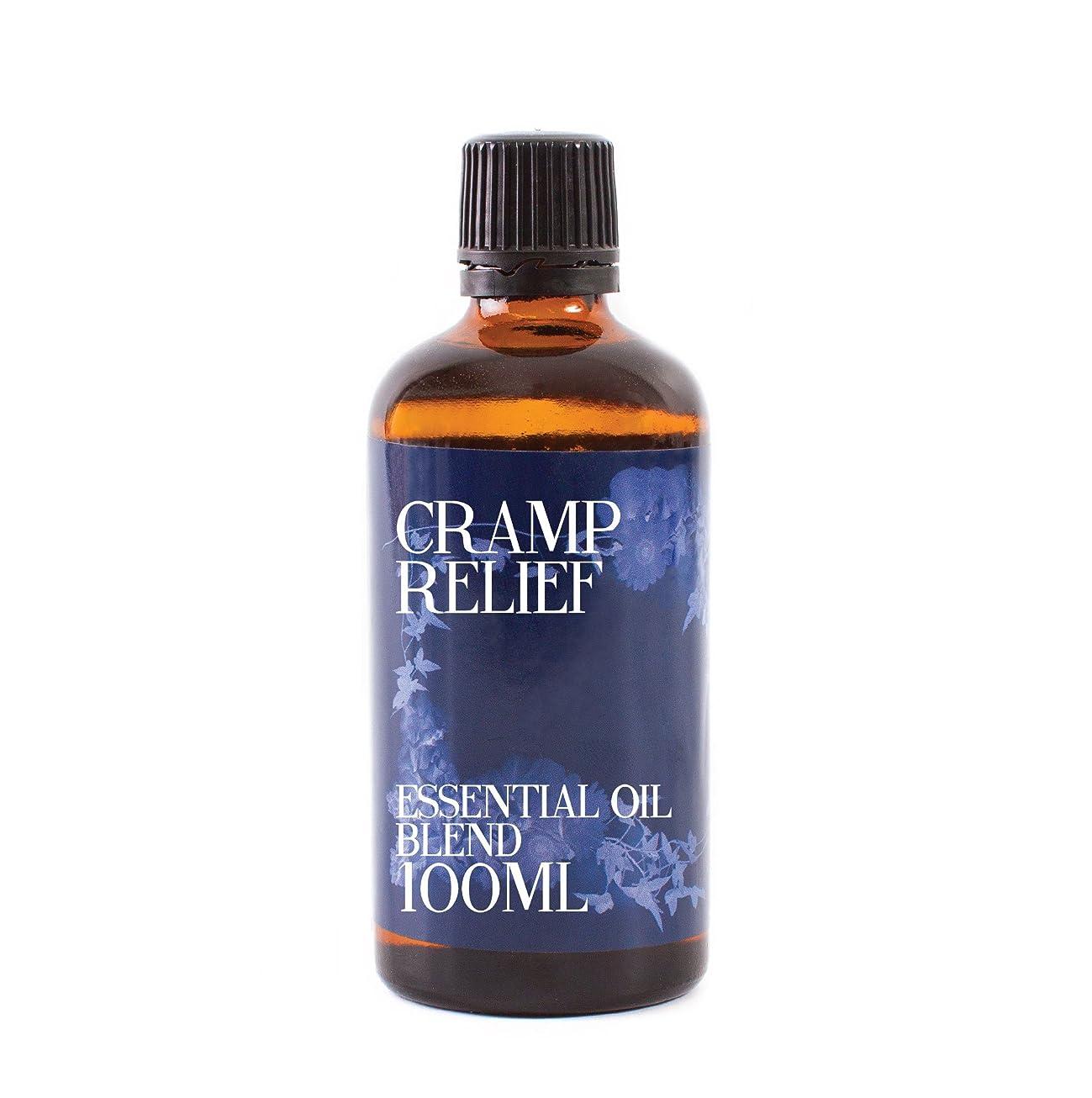 計画神経障害食事Mystix London | Cramp Relief Essential Oil Blend - 100ml - 100% Pure