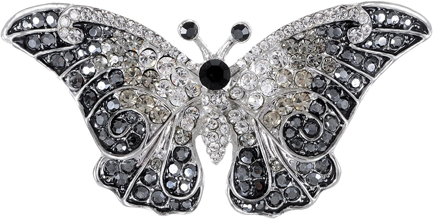 Alilang Ranking TOP6 Empress shopping Monarch Winged Rhine Butterfly Crystal Swarovski