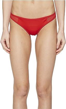 Neoprene & Mesh Classic Bikini Bottom