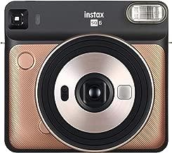 Fujifilm Instax Square SQ6 - Instant Film Camera - Blush Gold (Renewed)