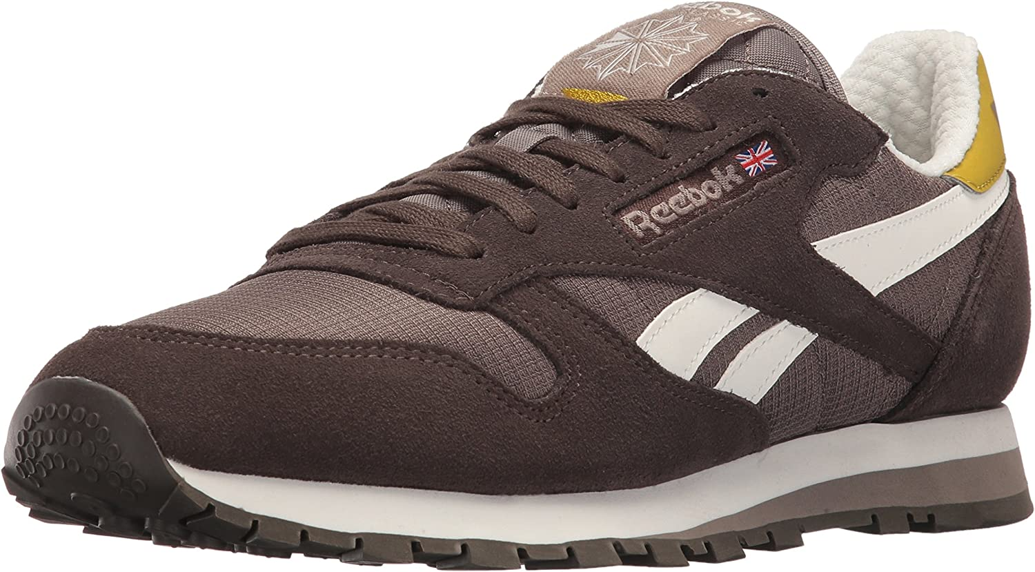 Reebok Mens Cl Leather Camp Fashion Sneaker