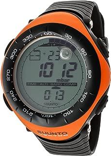 Suunto Men's Digital Vector-Orange Multi-Function Black Silicone