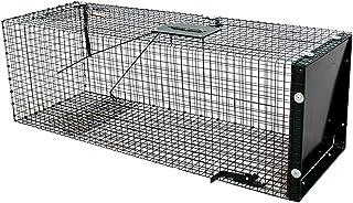 comprar comparacion Moorland Safe 5002 - Trampa para Animales Vivos - 90x30x30 cm - para martas, Gatos, Zorros, Conejos - con 1 Entrada