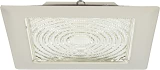 "Elco Lighting EL11W 8"" CFL Square Trim with Fresnel Glass Lens - EL11W (CFL)"