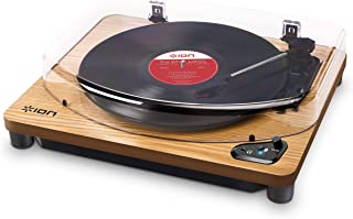 ION Audio Air LP - Vinyl Record Player/Bluetooth Turntable with USB Output for Conversion and Three Playback Speeds - Natu...