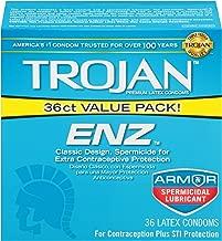 Trojan ENZ Condom ENZ Spermicidal