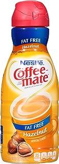 Coffee-Mate, Liquid Coffee Creamer, Fat Free Hazelnut, Quart, 32 oz