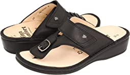 Black Nappa Classic Footbed