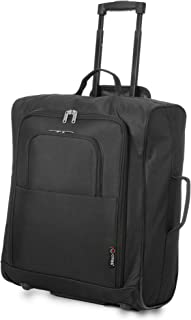 77ecbe012cd556 5 Cities Easyjet, British Airways, Jet2 56X45X25Cm Maximum Cabin Hand  Luggage Approved Trolley Bag