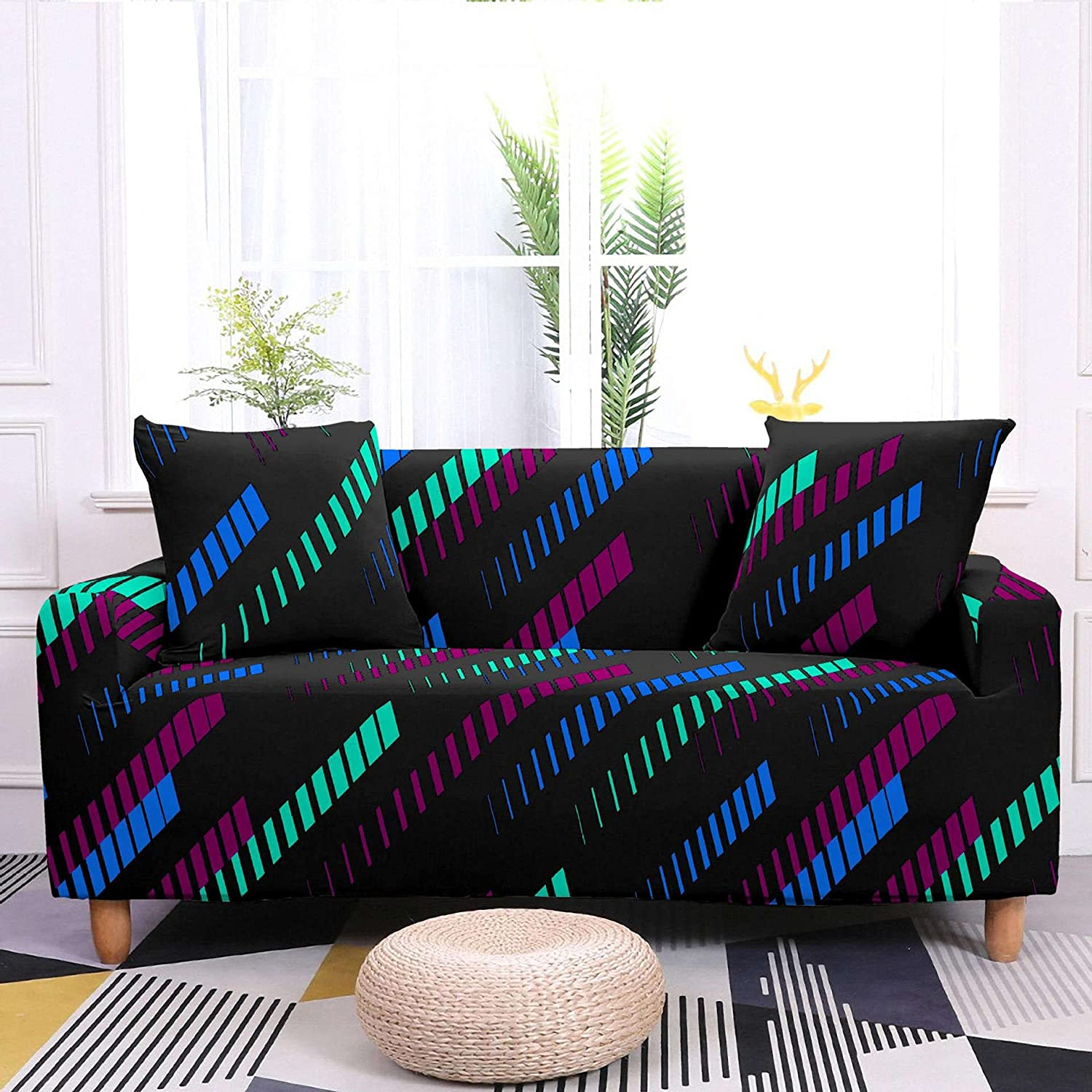 RWHXN Printed Sofa Cover All-Inclusiv Cash special price Non-Slip Sales of SALE items from new works Elastic Universal