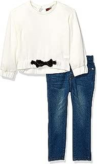 Girls' Toddler Fashion Top and Denim Jean Set