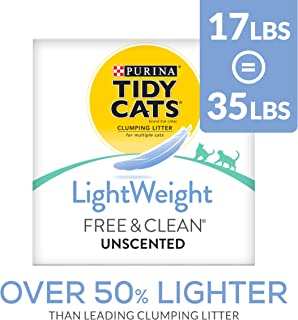 Best tidy cats free & clean unscented cat litter Reviews