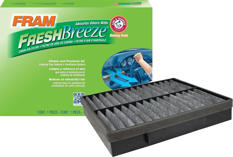 FRAM CF8718A Fresh Breeze Cabin Air Filter with Arm & Hammer