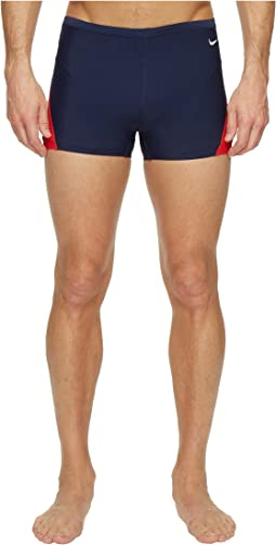 Nike Surge Color Block Poly Square Leg Brief
