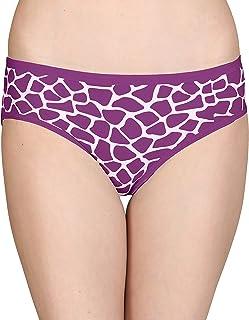 Lola Dola Women Ladies Girls Modal Hipster Panty Set of 01 (Multicolored, Free)
