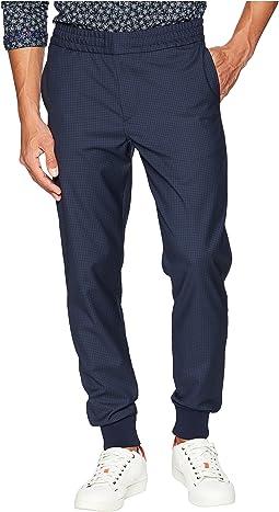 Check Wool Pants