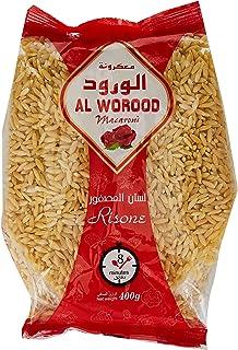 AL WOROOD Risoni Macaroni 400 g