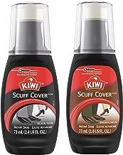 KIWI Scuff Cover Variety Pack, 1 Black Scuff Cover, 1 Brown Scuff Cover, 2 CT