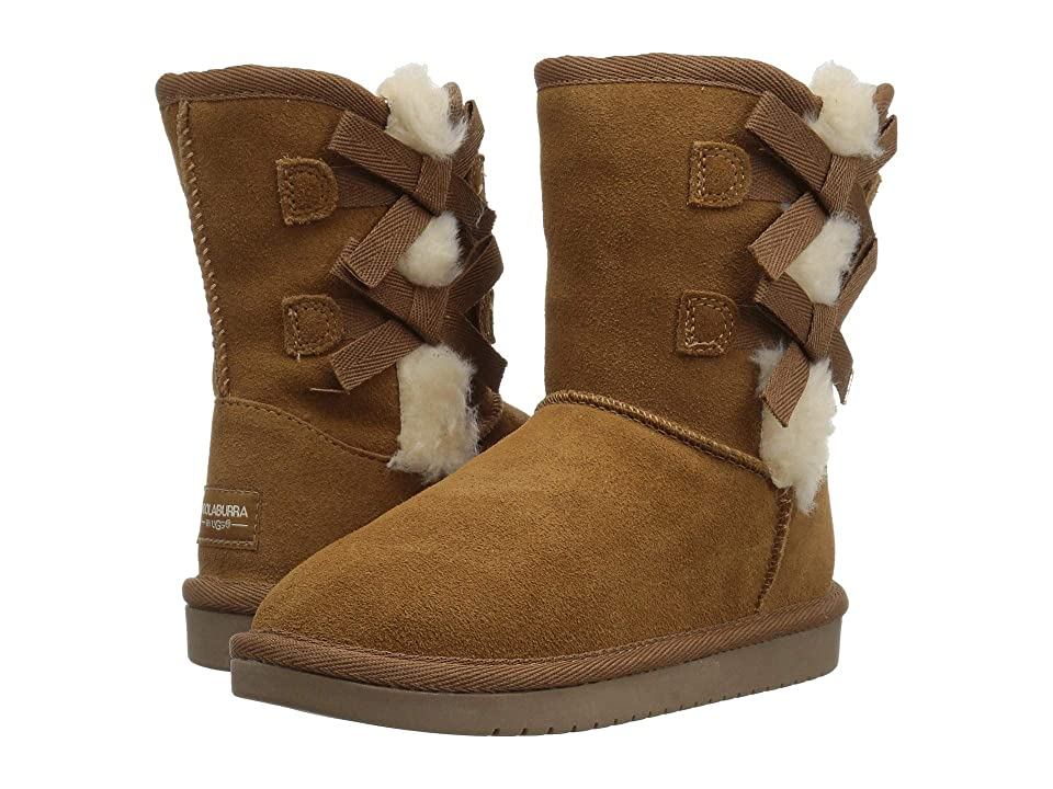 Koolaburra by UGG Victoria Short (Little Kid/Big Kid) (Chestnut) Women's Shoes