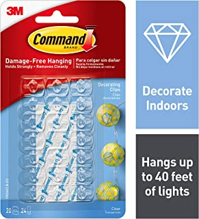 Best command decorating clips clear 20 clip Reviews