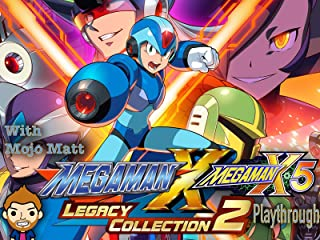 Mega Man X Legacy Collection 2 Mega Man X5 Playthrough With Mojo Matt