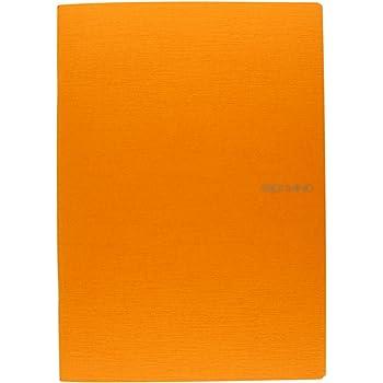 "Fabriano - EcoQua Staplebound Lined Notebook - Orange 38 Sheet Notebook - 8.25""x11.7"""