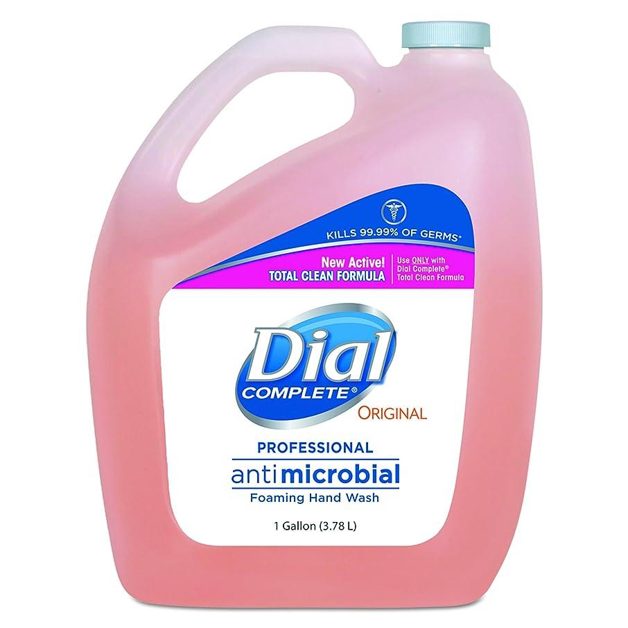 外出神社敵ダイヤルProfessional抗菌Foaming Hand Soap、元香り, 1?gal。、4?/カートン