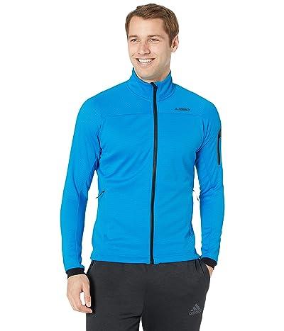 adidas Outdoor Terrex Stockhorn Fleece Jacket (Shock Blue) Men