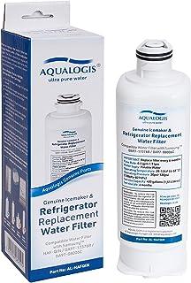 Aqualogis Filtre à eau pour réfrigérateur compatible avec Samsung DA97-17376B, DA97-08006C, HAF-QIN, HAF-QIN/EXP (unique)