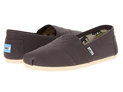 TOMS Classic Canvas (Grey) Men