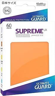 Ultimate Guard Supreme Japanese UX Card Sleeves (60 Piece), Orange