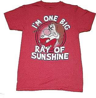 Disney Grumpy Sunshine Unisex Adult Fashion Top T Shirt
