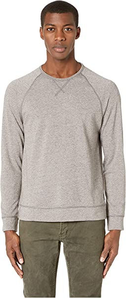 Domenic Long Sleeve Neppy Terry Crew w/ Coverstitch K4195V1B