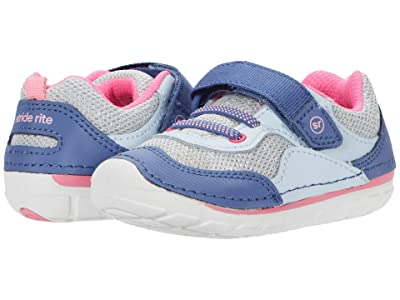 Stride Rite SM Rhett (Infant/Toddler) (Blue Multi) Girls Shoes