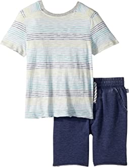 Splendid Littles Stripe Top Set (Little Kids/Big Kids)