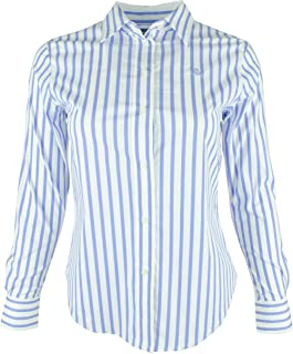 LAUREN RALPH LAUREN Women's Petite Stretch Non-Iron Shirt