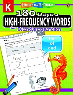 180 Days of High-Frequency Words Series for Kindergarten