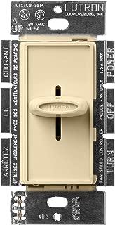 Lutron SFSQ-F-IV 1.5-amp Skylark Single-Pole Fan Control, Ivory