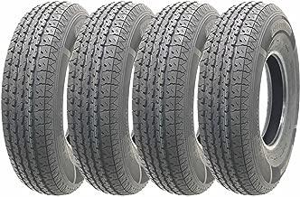 Set of 4 New Heavy Duty Trailer Tires ST225 90R16 Radial /14 PR Load Range G