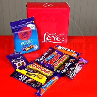 Cadbury Selection Love Ultimate Gift Box - Great Gift for Valentines - Romantic Gift Idea - By Moreton Gifts