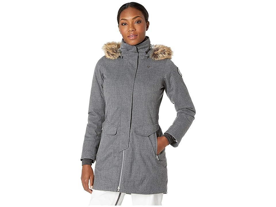 Obermeyer Sojourner Down Jacket (Charcoal) Women