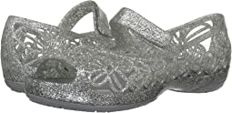 Crocs Kids Isabella Glitter Jelly Flat PS (Toddler/Little Kid)