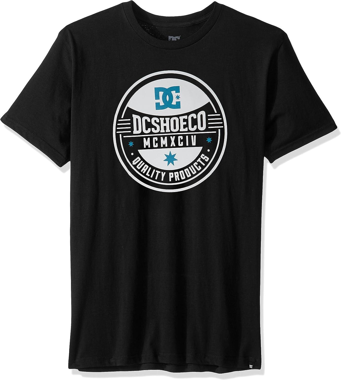 DC Herren Ahorn-Siegel-T-Shirt, Medium, Medium, schwarz  Alle Waren sind Specials