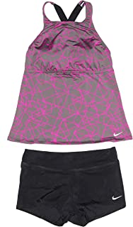 d8a01f4bc4 Nike Tankini Athletic Maillot de Bain 2 pièces pour Femme