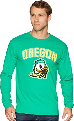 Oregon Ducks Long Sleeve Jersey Tee