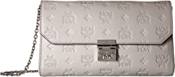 MCM - Millie Monogrammed Leather Small Crossbody