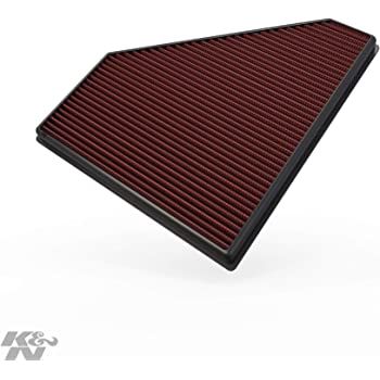 K&N Engine Air Filter: High Performance, Premium, Washable, Replacement Filter: 2013-2019 Chevy/Cadillac (Camaro, ATS, CTS), 33-2496