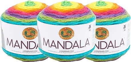 (3 Pack) Lion Brand Yarn 525-209 Mandala Yarn, Gnome