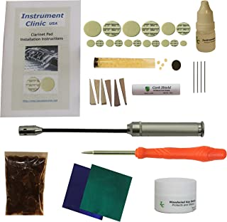 Instrument Clinic Clarinet Pad Kit, with Instructions, for Buffet Clarinets